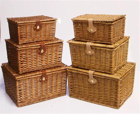 Furniture : Wicker Storage Basket Ideas to Make Your Room More Organized   wicker storage