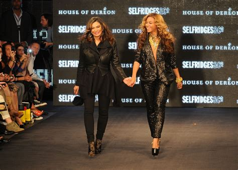 Beyonce Solange And Tina Launch The Dereon Juniors Line In Canada by Beyonce Knowles In The Launch Of House Of Dereon By