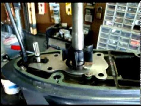 replace water pump impeller   yamaha  hp