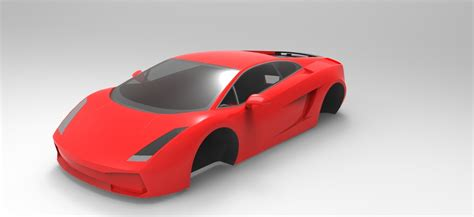 solidworks tutorial lamborghini gallardo lamborghini gallardo stl solidworks stl 3d cad model