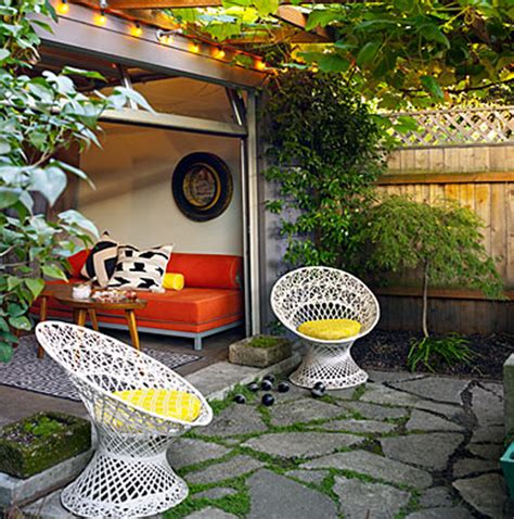 small garden design in home renovation ideas