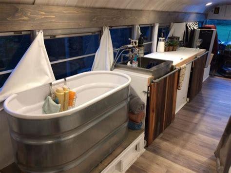 school bus  transformed   amazing home
