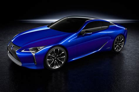 lexus new sports car 2017 lexus lc500h new coupe gets clever complex hybrid tech