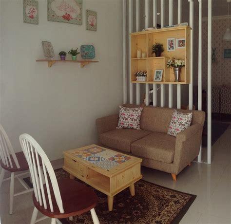 contoh dekorasi ruang tamu kecil desain rumah minimalis terbaru