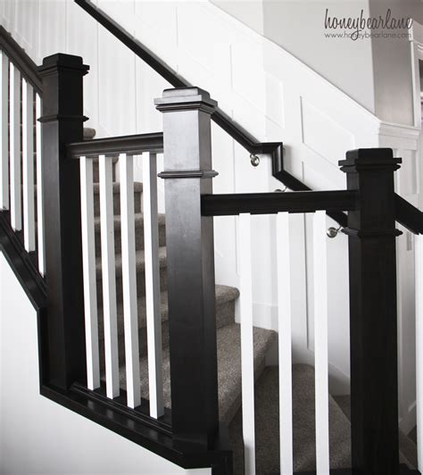 How To Paint A Stair Banister by Tips For Painting Stair Balusters Honeybear