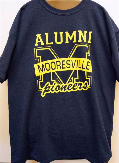 design t shirt for alumni alumni mooresville schools