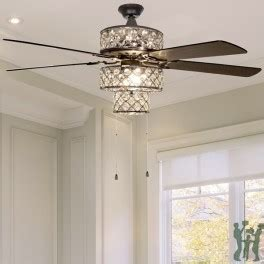 river of goods ceiling fan river of goods 52 quot silver ceiling fan with tri tiered