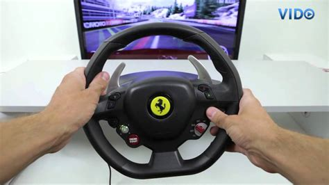 Thrustmaster 458 Italia Racing Wheel For Pc Xbox
