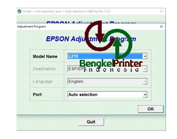 cara reset epson l210 ink level cara mudah reset printer epson l110 l210 l300 l350 l355