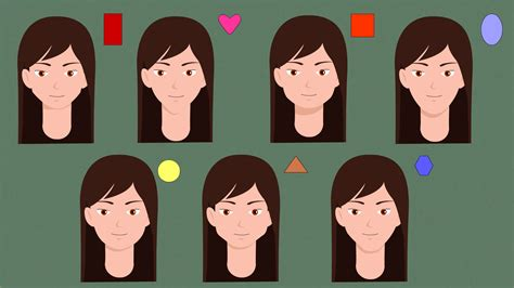 whats my face shape women quiz how to determine your face shape 10 steps with pictures