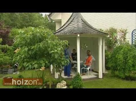 pavillon aufbauen wir bauen eine grillh 252 tte grillkota pavillon nur aus b
