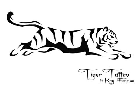 simple tiger tattoo designs simple tiger