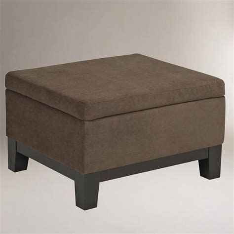 world market storage ottoman walnut baldwin easy storage ottoman world market