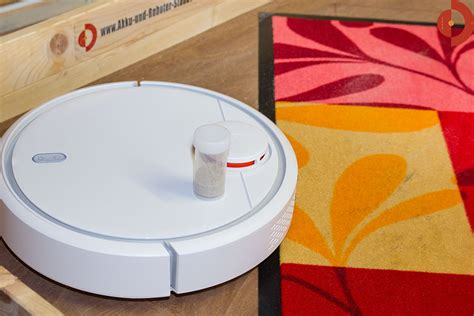 staubsauger roboter teppich xiaomi mi robot vacuum im test akku und roboter