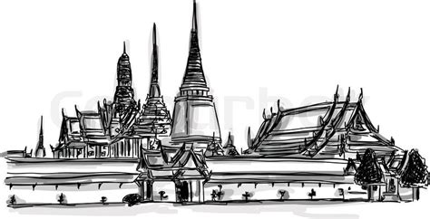 Draw House Plans Online Free vector world famous landmark collection grand palace