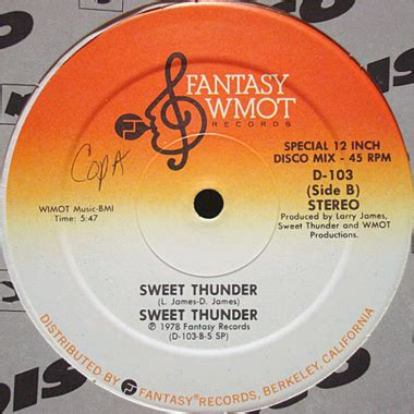 Sweet Thunder by Sweet Thunder Everybody S Singin Song Breakwell