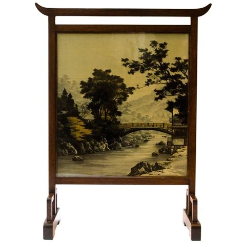 anglo japanese fire screen attributed to e w godwin for