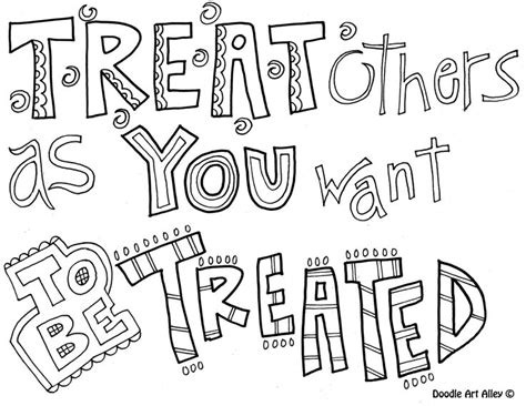 Quotes Coloring Pages Doodle Alley Coloring Pages