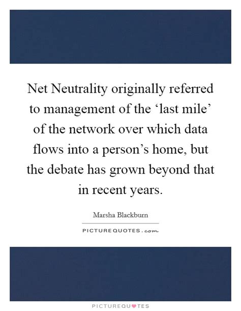 net neutrality originally referred to management of the