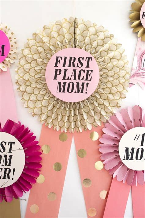 oversize mothers day awards diy