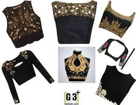 Worst Home Design Trends best black color blouse designs for wedding amp party look