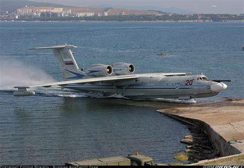 russian flying boat jet beriev a 42pe albatros russia navy aviation photo