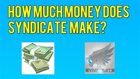 how much money do you give for a wedding how much money does syndicate make from youtube find out
