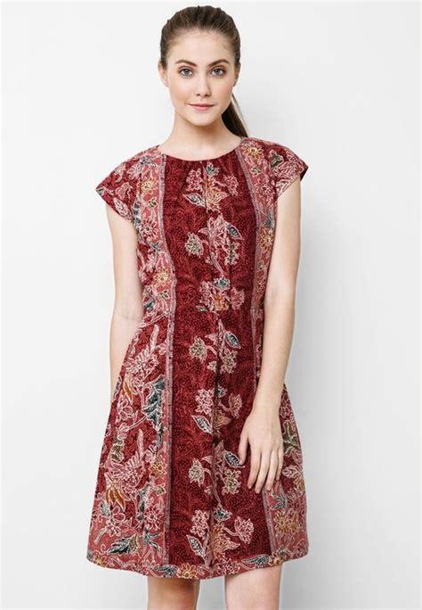 inspirasi  dress batik modern keren  remaja