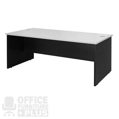 rectangular office desk logan open rectangle desk office furniture plus