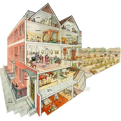 Houghton Hall Floor Plan by Look Inside A Georgian Townhouse Sharon Lathan Novelist