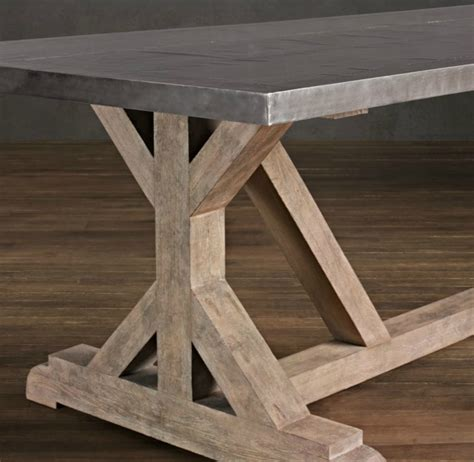 Rustic Dining Table Plans Diy Rustic Wood Dining Table