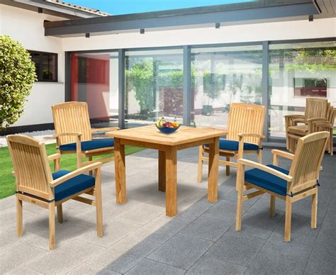 4 seater table and chairs balmoral 4 seater garden table and stacking chairs