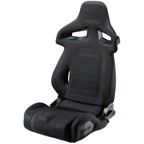 reclinable seat sparco reclinable seat r333 black garagerz automotive