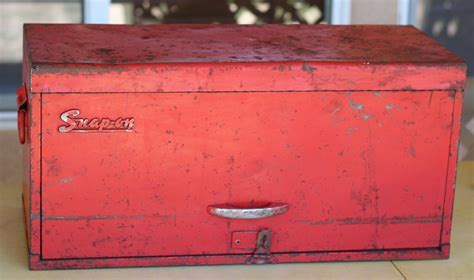 snap  vintage tool chest box cabinet  drawer  usa rare  key padlock   sale