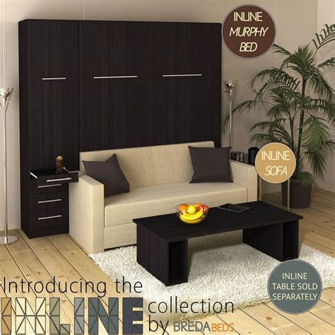 couch ready mix 1000 ideas about murphy bed with couch on pinterest