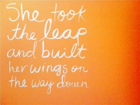 take that leap risking it all for what really matters books she took the leap and built wings more than sayings