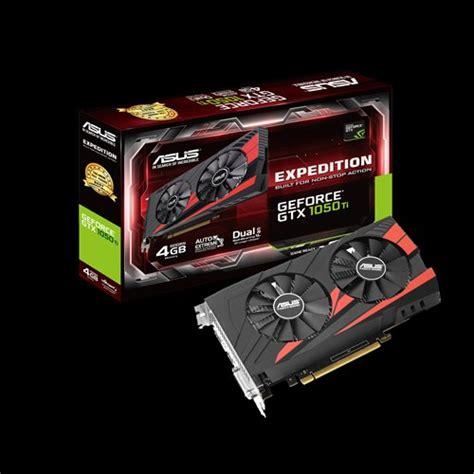 Asus Expedition Geforce Gtx 1050 Ti Gddr5 4gb ex gtx1050ti 4g graphics cards asus global