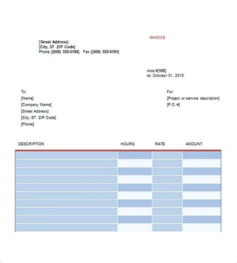 invoice template graphic design 25 best ideas about invoice template on
