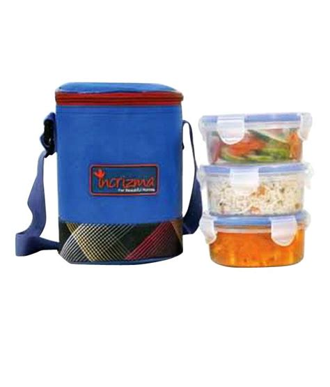 Trio Lunch Box incrizma trio lunch box 3 pc set with insulated