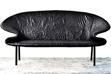 Creative Leather Furniture by Creative Leather Sofa Design By Moroso Doodle
