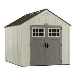 suncast tremont 8x10 storage shed bms8100 free shipping