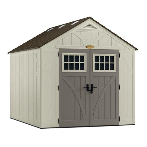 8x10 Storage Shed suncast tremont 8x10 storage shed bms8100 free shipping