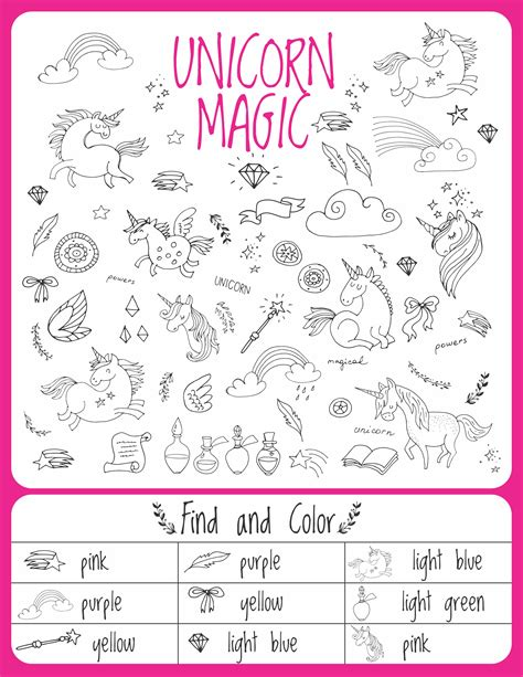 magical unicorn activity book for mazes dot to dot coloring matching crosswords book for activity book for ages 3 5 4 8 5 12 books unicorn birthday activities puzzles growing play