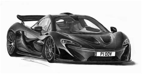mclaren p1 drawing easy mclaren p1 by ilov2xlr8 on deviantart