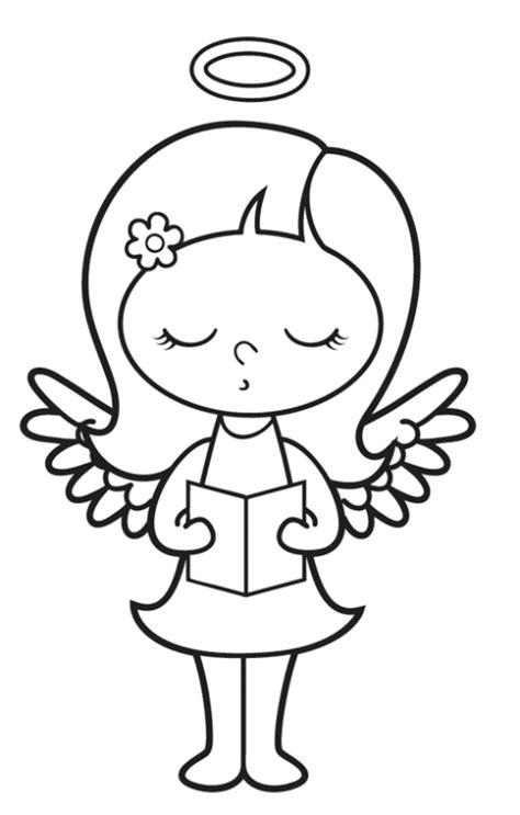 Kostenlose Vorlage Engel Kostenlose Malvorlage Engel Singender Engel Zum Ausmalen