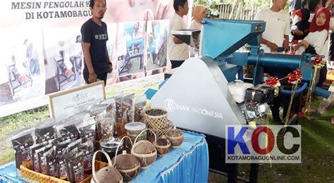 Mesin Let S Coffee pjs wali kota resmikan penggunaan mesin pengolahan kopi di desa bilalang ii kotamobaguonline