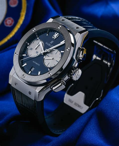 Chelsea Edition 02 hublot classic fusion chronograph chelsea the for
