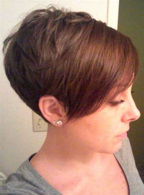 haircuts hair in front longer than hair in back pixie cuts with long bangs pixie cuts pinterest long