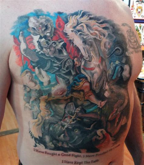 saint george tattoo designs st george www pixshark images galleries