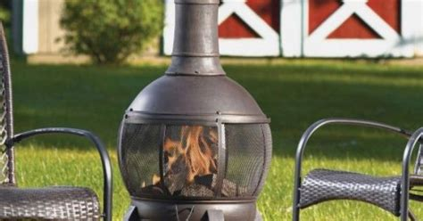 Living Accents Cast Iron Chiminea by Living Accents Cast Iron Chimenea With By Living